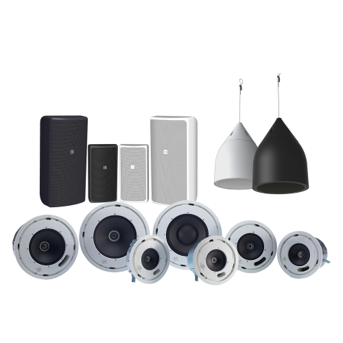 D Series distributed loudspeaker systems