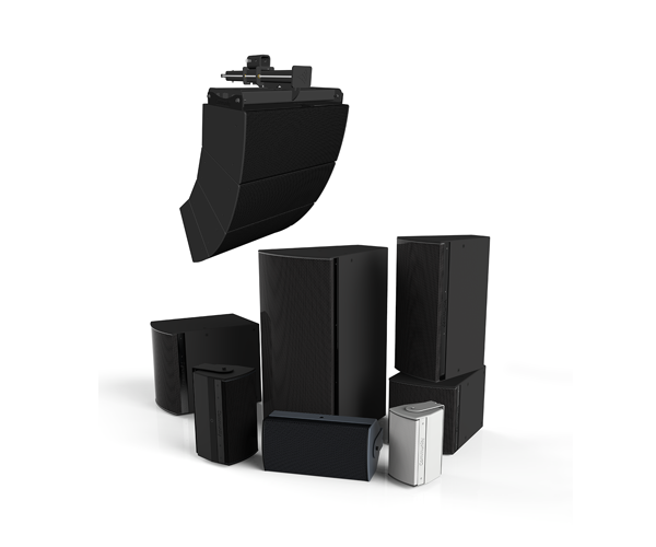 I Series engineered loudspeaker systems