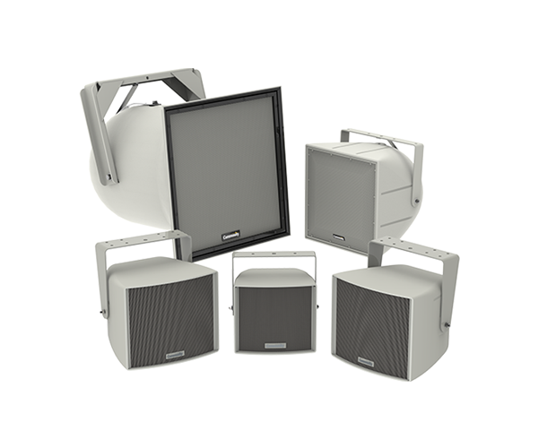 R Series indoor and outdoor loudspeaker